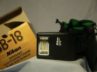 '                    NIKON SB-18' Nikon Speedlight SB-18 Flash Cased -NICE- £19.99